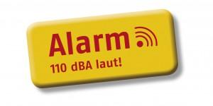Alarm gelbe Logo